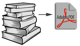 Create digital e-Books form your printed books